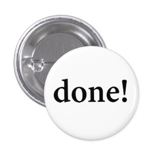 """DONE!"" BUTTON"