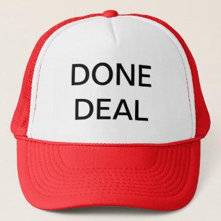 DONE DEAL TRUCKER HAT