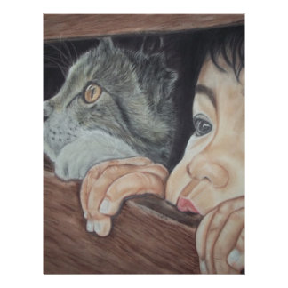 Done drawing by hand with pencil and chalk pastel letterhead