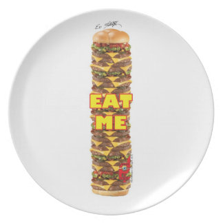 Done In Extreme EAT ME Plate