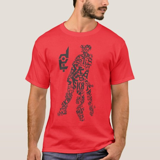 Done In Extreme Skate Kid T-Shirt (red)