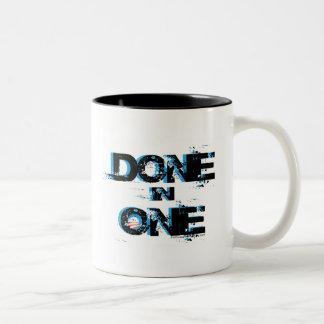 Done In One - Obama One Term Two-Tone Coffee Mug