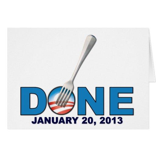 Done - January 20, 2013 - Anti Obama Card