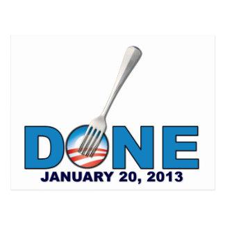 Done - January 20, 2013 - Anti Obama Postcard