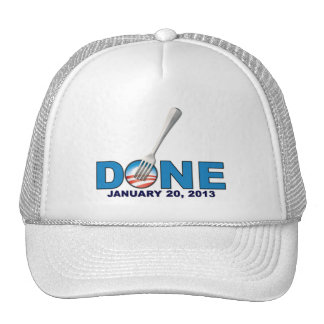 Done - January 20, 2013 - Anti Obama Trucker Hat