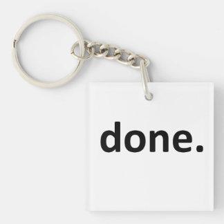 done. keychain