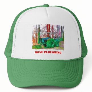 DONE PLOUGHING TRUCKER HAT