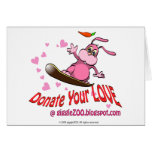 Done su amor con la tarjeta del día de San Valentí