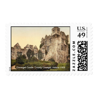 Donegal Castle. County Donegal, Ireland 1905 Postage