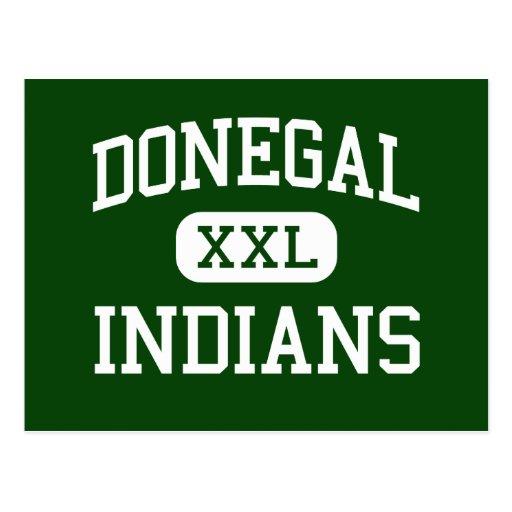 Donegal - indios - alto - alegría Pennsylvania del Postal