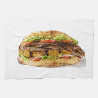 """""""Doner Kebab"""" design kitchen towel"""
