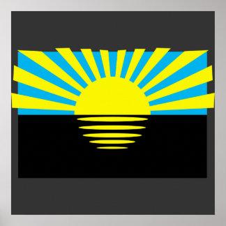 Donetsk Oblast, Ukraine Poster