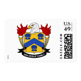 Dongan Family Crest Postage Stamp