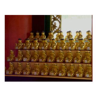 Donghwasa Temple, Tongil-Daejon Hall Postcard