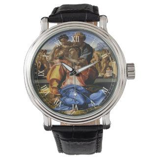 Doni Tondo o Doni Madonna de Miguel Ángel Relojes De Pulsera