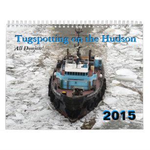 Hudson River Tugboat Calendars | Zazzle