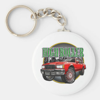 Donk Caprice Red Keychain