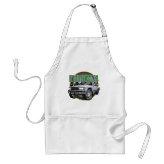 Donk Caprice Silver Adult Apron