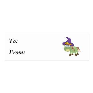 donk witchy del burro de los goofkins tarjetas de visita mini