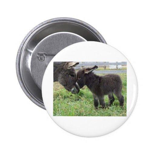 donkey 2 inch round button