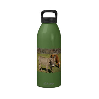 Donkey and Cow Water Bottle