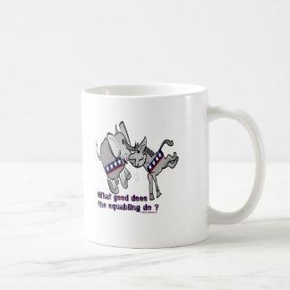 Donkey and Elephant Coffee Mug