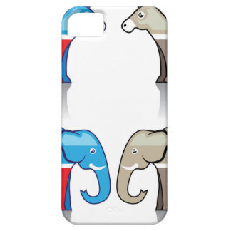 Donkey and Elephant Political Parties iPhone SE/5/5s Case