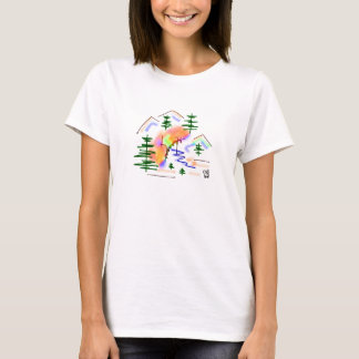 donkey and rainbow T-Shirt