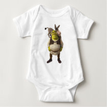 Donkey And Shrek Baby Bodysuit