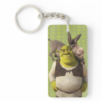 Donkey And Shrek Keychain