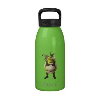 Donkey And Shrek Reusable Water Bottle