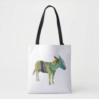 Donkey Art Tote Bag