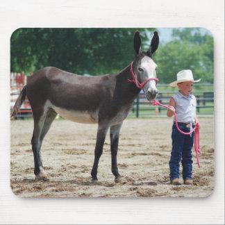 donkey at halter mouse pad