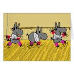 donkey ballet card