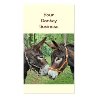 Donkey business card