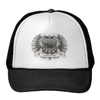 Donkey Crest Mesh Hats