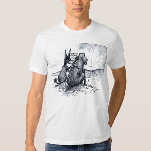 Donkey / Elephant - Your Loss Is My Gain T-Shirt