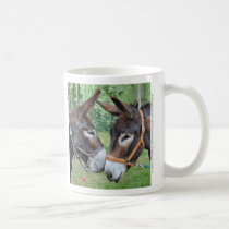 Donkey friends coffee mug