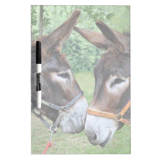 Donkey friends dry erase boards