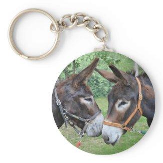 Donkey friends keychain keychain