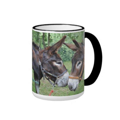 Donkey friends mugs