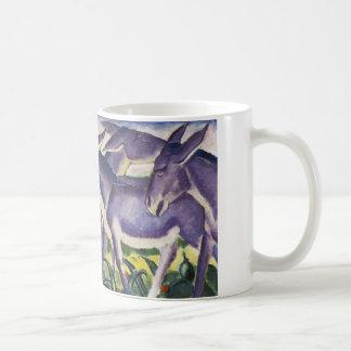Donkey Frieze by Franz Marc Classic White Coffee Mug
