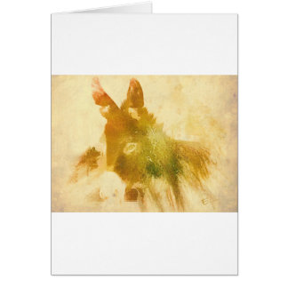 Donkey Gifts Greeting Card