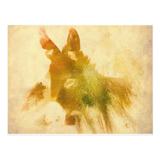 Donkey Gifts Postcard