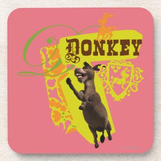 Donkey Graphic Coaster