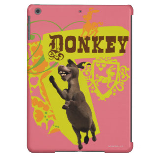 Donkey Graphic iPad Air Cover