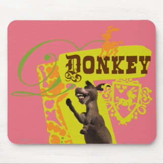 Donkey Graphic Mouse Pad