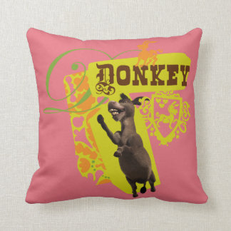 Donkey Graphic Pillow