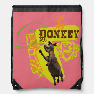 Donkey Graphic Backpack