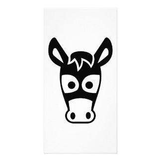 Donkey head card
